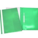 Classificador Plastico Capa Cristal Roma262.02 Verde-Pack 10