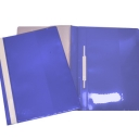 Classificador Plastico Capa Cristal Roma262.05 Azul-Pack 10