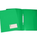 Classificador Plastico Capa Opaca Roma263.02 Verde-Pack 10