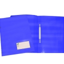 Classificador Plastico Capa Opaca Roma263.05 Azul-Pack 10