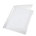 Classificador Plastico Capa Transparente Leitz 4191 Branco Cx 25un