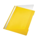 Classificador Plastico Capa Transparente Leitz 4191 Amarelo Cx 25un