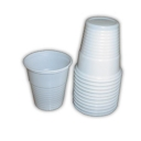 Copos Plastico Branco (Cafe) (Anti-Estatico) (Para Maquinas Vending) 150ml-(Pack50)