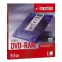 Dvd-Ram Imation 9.4Gb Tipo 4 (pack 5 un)