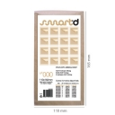 Envelopes Air-Bag Kraft 110x160 Nº 000 Pack 5un