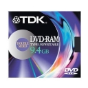 Dvd-Ram TDK 9,4GB SY2-Cartridge 1 Un